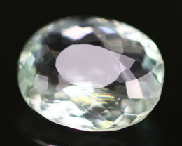 Aquamarine 3.44Ct Natural Light Greenish Blue Color A373