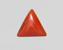 Coral, 3.24ct - Mined in Italy | Certified by IGI