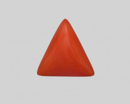Coral, 3.26ct - Mined in Italy   Certified by IGI