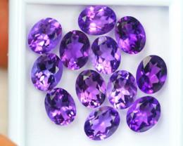 20.53ct Purple Amethyst Oval Cut Lot D163
