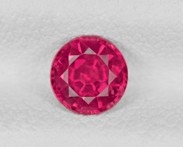 Ruby, 0.73ct - Mined in Tanzania | Certified by IGI