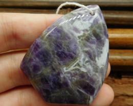 Amethyst pendant bead (G0933)