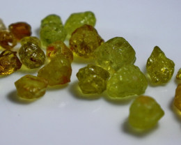 41.30  CT Natural Demontoid Green Garnet Rough lot