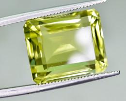 16.20 Crt Natural Lemon Quartz Faceted Gemstone.( AG 83)