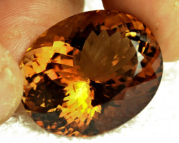 75.3 Carat VS Himalayan Golden Brown Topaz - Superb