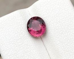 1.50 Ct Natural Reddish Rubellite Transparent Tourmaline Gemstone