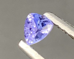 Natural Tanzanite Best Quality Top Cuttin 0.15 Carats