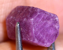 7.70-CTS RUBY ROUGH AFRICA  CRYSTAL UNTREATED   RG-3978