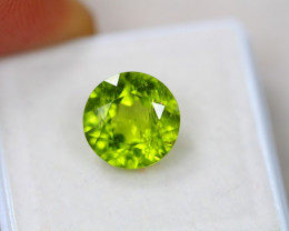 4.59ct Green Peridot Round Cut Lot GW4378