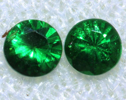 0.29-CTS TSAVORITE GARNET FACETED PAIR  PG-2703