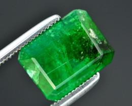 Top Quality 4.00 Ct Natural Panjshir Emerald ~ RA