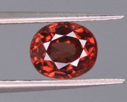 1.65 ct Natural Red Zircon Untreated Cambodia