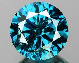 1.02 Cts SPARKLING RARE FANCY BLUE COLOR NATURAL DIAMOND