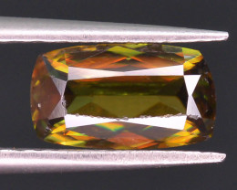 1.15 ct Natural Green Sphene From pakistan