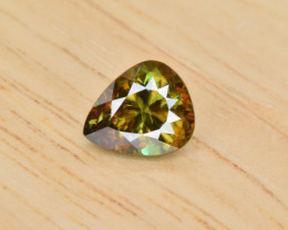 Natural Color Changing Chrome Sphene 1.54 Cts from Skardu, Pakistan