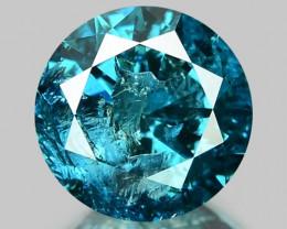 1.12 Cts SPARKLING RARE FANCY BLUE COLOR NATURAL DIAMOND