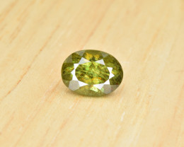 Natural Color Changing Chrome Sphene 1.76 Cts from Skardu, Pakistan