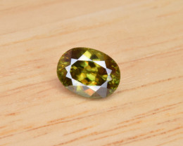 Natural Color Changing Chrome Sphene 2.90 Cts from Skardu, Pakistan
