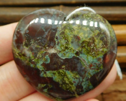 Natural gemstone dragon bloodstone pendant (G0954)
