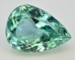 12.20 Ct Green Spodumene Gemstone From Afghanistan~ G AQ