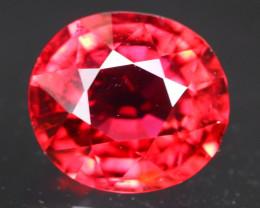1.98Ct Rubellite Tourmaline Natural Red Color C2311