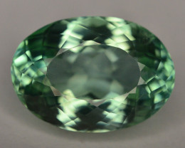 13.40 Ct Green Spodumene Gemstone From Afghanistan~ G AQ