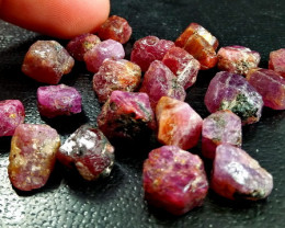 116.35 Ct Unheated ~ Natural Ruby Rough Lot