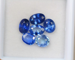 3.10ct Natural Blue Sapphire Oval Cut Lot D269