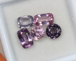 3.81ct Spinel Mixed Cut Lot V4767