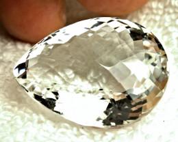 68.98 Carat Natural African VVS White Quartz - Gorgeous