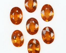 4.63 Cts Natural Fanta Orange Spessartite Garnet Oval Parcel Africa