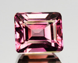 1.84 Cts Natural Pink Tourmaline Octagon Cut Mozambique