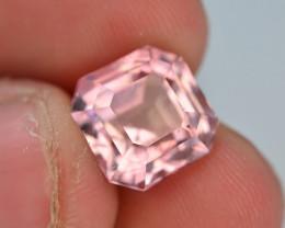 AAA Grade 5.80 ct Natural Baby Pink Color Tourmaline