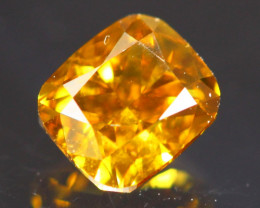 0.41Ct Diamond Fancy Natural Chameleon Color ER01