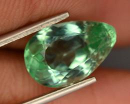 5.40 Ct Green Spodumene Gemstone From Afghanistan~ G AQ