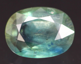 Sapphire 1.76Ct Parti Sapphire Natural Color A458