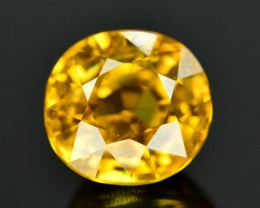 4.45 Ct Gorgeous Color Natural Yellow Zircon