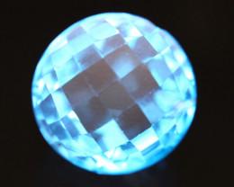 Topaz 11.67Ct Natural Swiss Blue Topaz Color B2408