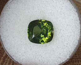 5,48ct green Zircon - rare colour & clarity!