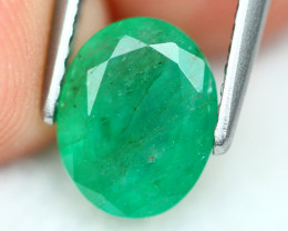 Emerald 1.04Ct Vivid Green Zambian Emerald A593