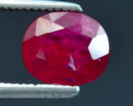 1.64 CT BURMA RED RUBY BEST COLOR GEMSTONE RB13