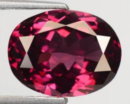 4.26 Cts Natural Pink Rhodolite Garnet Oval Africa Gem