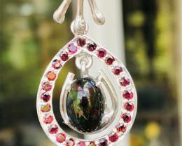 MEZEZO OPAL Beautiful pendant, handmade in Germany