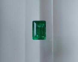 NR!  GUILD & MGL 1.05CT Emerald NO OIL Good Quality Russia Urals