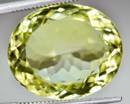 17.46 Crt Natural Lemon Quartz Faceted Gemstone.( AG 84)