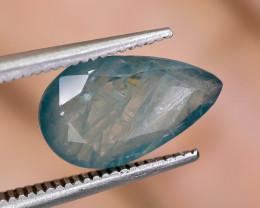 2.65 Crt Natural Rare Grandidierite Faceted Gemstone.( AG 84)