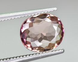 1.48 Crt Natural Tourmaline Faceted Gemstone.( AG 84)