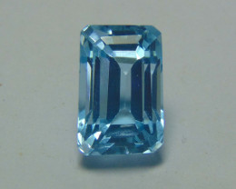 10.70CTS NATURAL ELONGATED blue TOPAZ