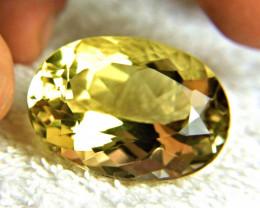 104.78 Carat Vibrant VVS1 Golden Citrine - Superb
