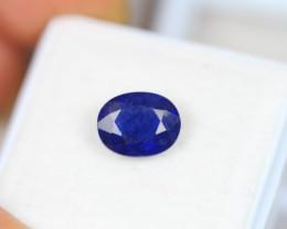 2.56Ct Blue Sapphire Oval Cut Lot LZ3084